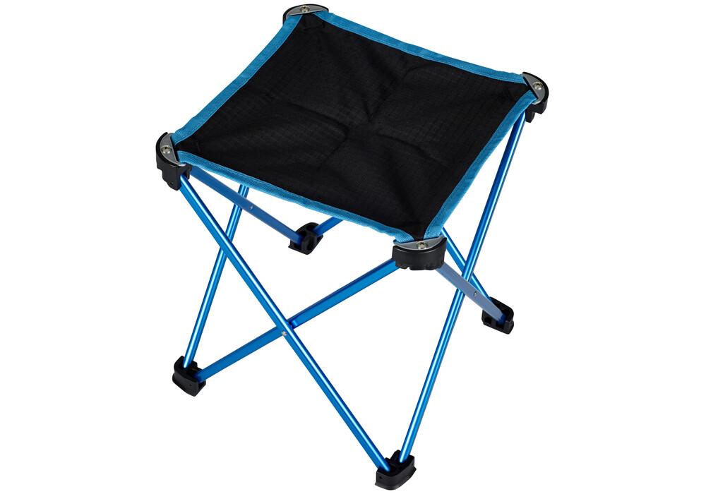 campz tabouret pliant ultra l ger si ge camping m bleu. Black Bedroom Furniture Sets. Home Design Ideas