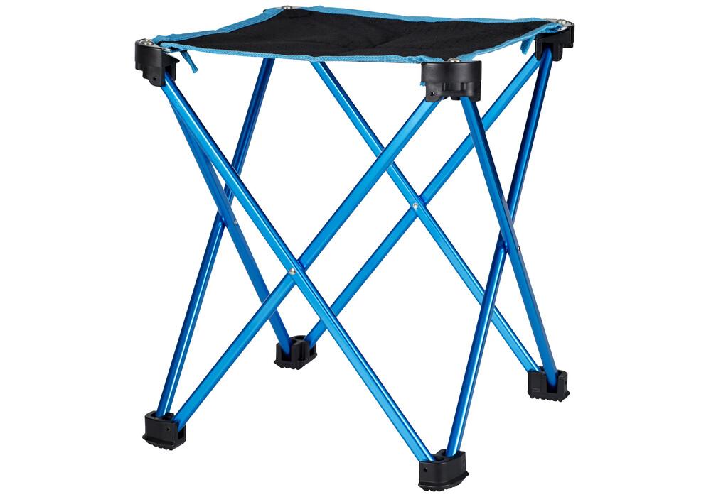campz tabouret pliant ultra l ger si ge camping l bleu sur. Black Bedroom Furniture Sets. Home Design Ideas