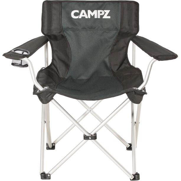 CAMPZ Alumiini Taittuva Tuoli, black