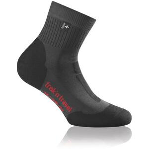 Rohner Trek'n Travel L/R sukat, harmaa/musta harmaa/musta