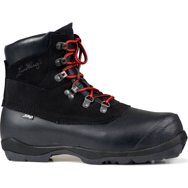 Lundhags Guide BC Shoes black/red