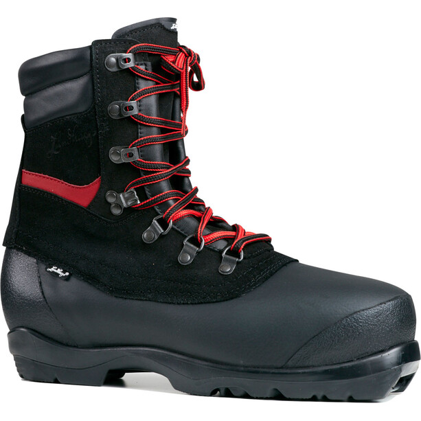 Lundhags Guide Expedition BC Shoes black/red