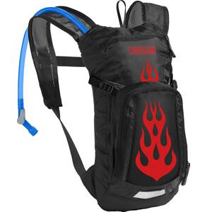 CamelBak Mini M.U.L.E. Hydration Pack 1,5L Kids black/flames black/flames