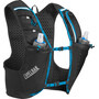 CamelBak Ultra Pro Trinkrucksack Weste with Quick Stow Flask black/atomic blue