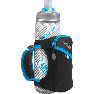 CamelBak Quick Grip Chill Handheld Wasserflasche black/atomic blue black/atomic blue