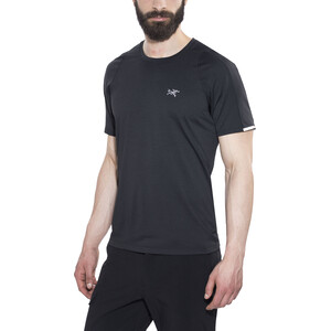 Arc'teryx Cormac SS Rundhalsshirt Herren black black