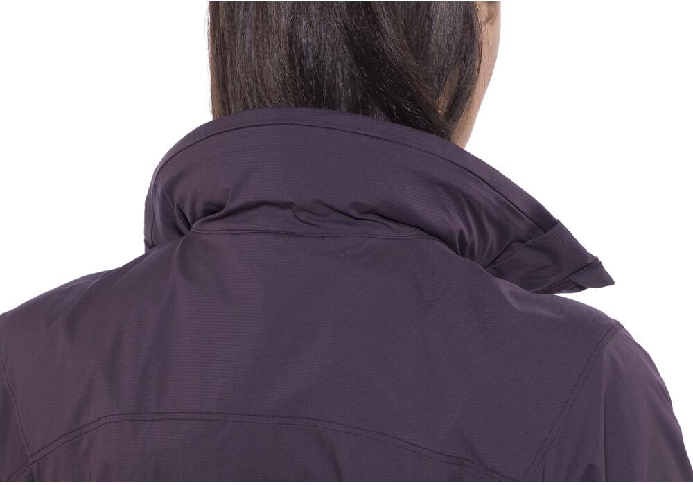 Arc 39 teryx nodin veste femme violet sur - Ourlet rideaux quelle hauteur ...