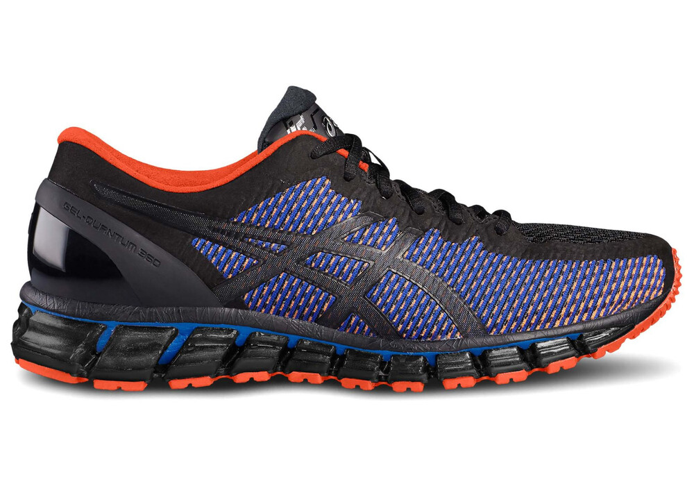 asics gel quantum 360 cm chaussures de running homme bleu noir sur. Black Bedroom Furniture Sets. Home Design Ideas
