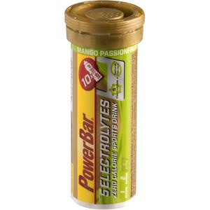 PowerBar 14 Electrolytes Zero Calorie Sports Drink Tabs 10 Pieces Mango-Passion Fruit