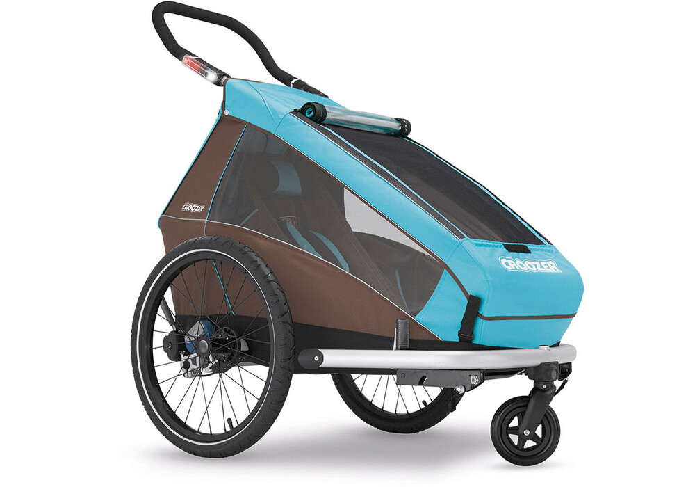 croozer kid plus for 1 fahrrad kinder anh nger sky blue. Black Bedroom Furniture Sets. Home Design Ideas