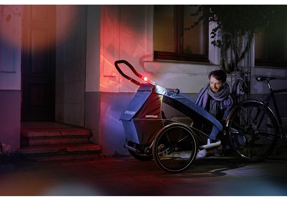 croozer kid plus for 2 przyczepka rowerowa br zowy. Black Bedroom Furniture Sets. Home Design Ideas