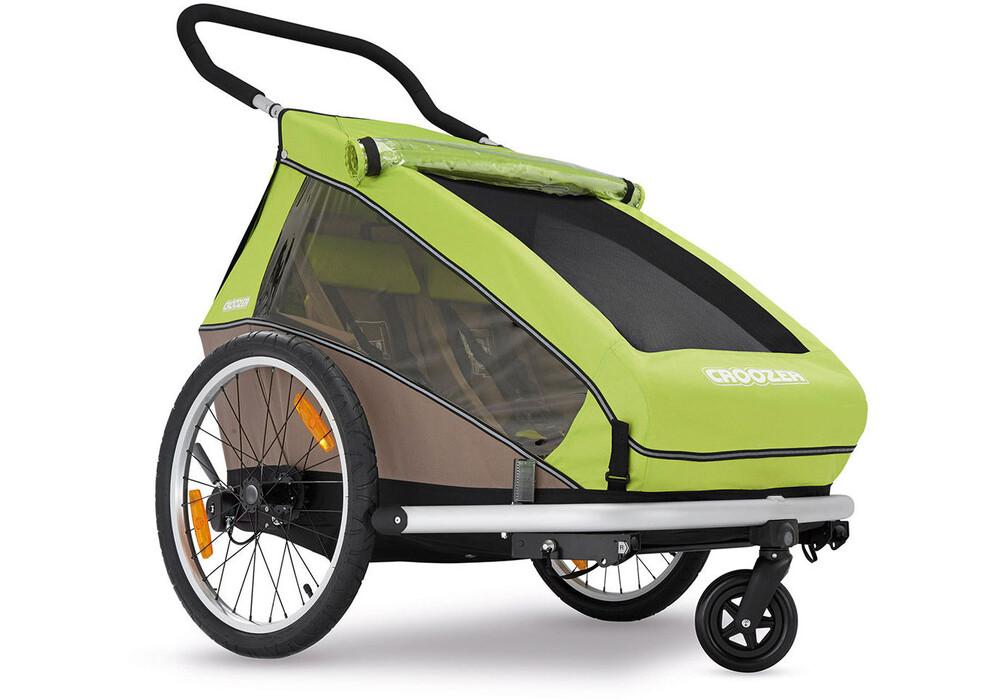 croozer kid for 2 fahrrad kinder anh nger meadow green. Black Bedroom Furniture Sets. Home Design Ideas