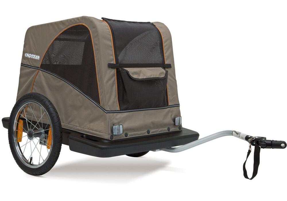 croozer dog fahrradanh nger 16 sand grey. Black Bedroom Furniture Sets. Home Design Ideas