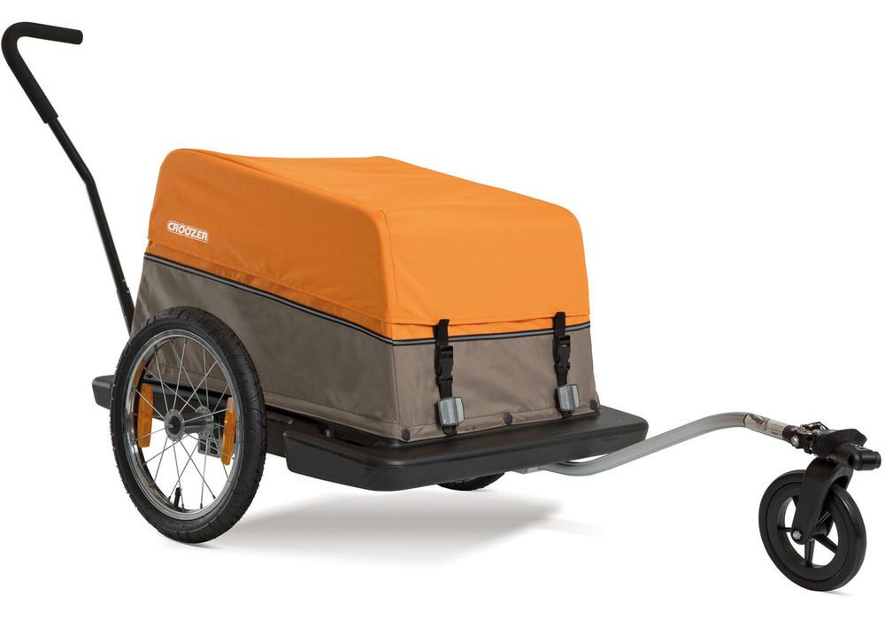croozer cargo remorque v lo 16 orange marron. Black Bedroom Furniture Sets. Home Design Ideas