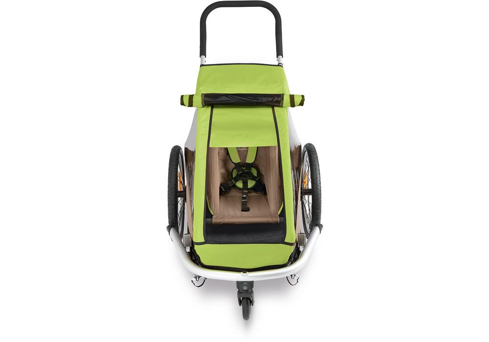croozer pare soleil pour kid for 1 vert boutique de v los en ligne. Black Bedroom Furniture Sets. Home Design Ideas