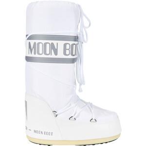 Moon Boot Nylon Bottes, blanc blanc