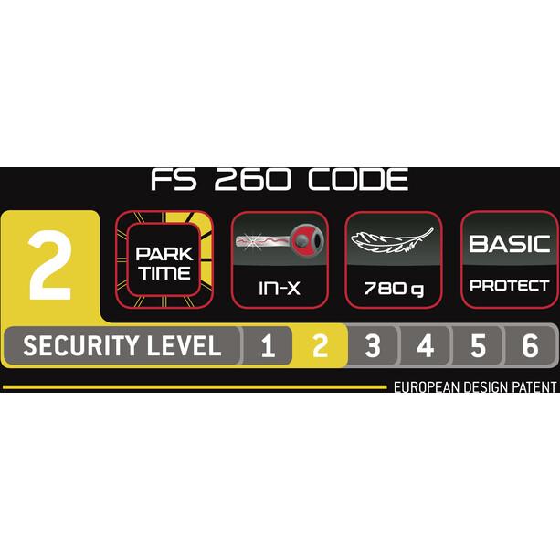 Trelock FS 260 Code Foldelås