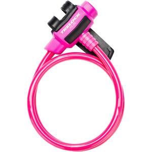Trelock KS 211 Fixxgo Kids Kabelschloss Kinder pink pink