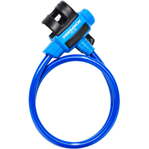 Trelock KS 211 Fixxgo Kids Cable Lock Kids blue blue
