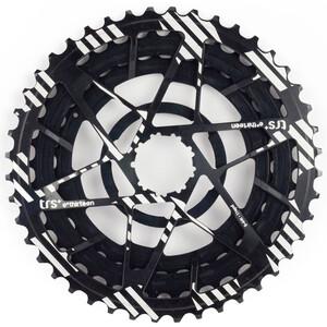 e*thirteen Aluminiumritzel Ritzel 32-38-44 für TRS+ Kassette 11-Fach schwarz schwarz