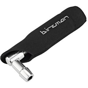 Birzman Zacoo CO2 Kartuschenpumpen Set 25g schwarz/silber schwarz/silber