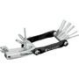 Birzman Feexman Cicada Multi Tool 10 Function schwarz/silber