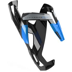 Elite Custom Race Plus Bottle Holder glossy black/blue glossy black/blue