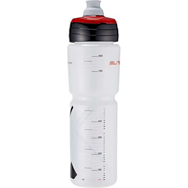 Elite Ombra Trinkflasche 950ml transparent/rot