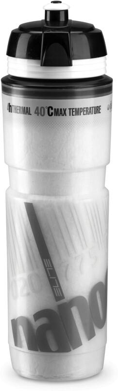 Elite Nanogelite Thermo Bottle Bike bottle white/grey  2019 Vattenflaskor