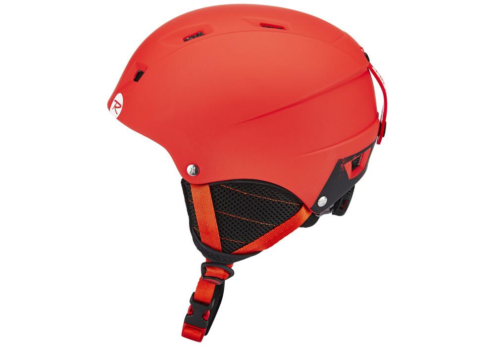 rossignol comp casque de ski enfant rouge sur. Black Bedroom Furniture Sets. Home Design Ideas