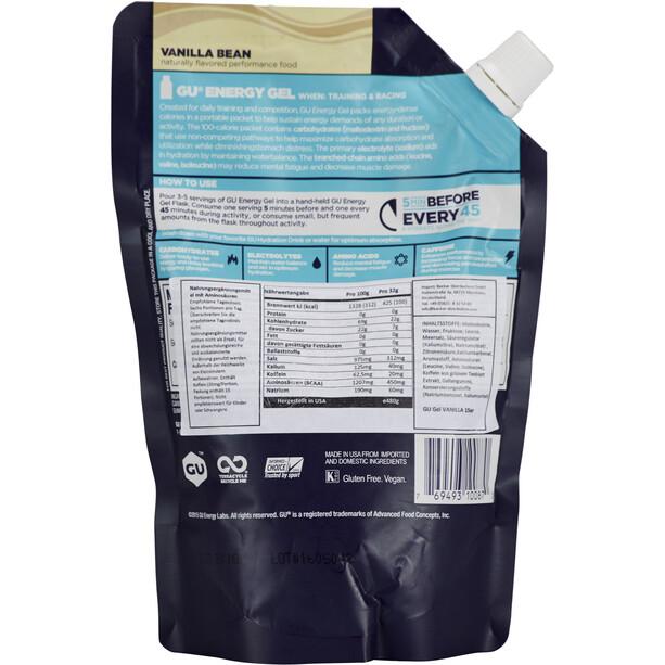 GU Energy Gel Bulk Pack 480g Vanilla Bean