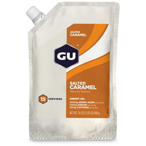 GU Energy Gel Bulk Pack 480g Gesalzenes Karamell