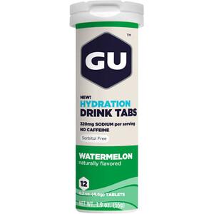 GU Energy Hydration Drink Tabs 12 Stück Wassermelone