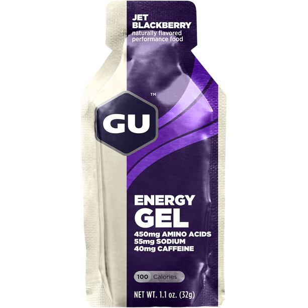 GU Energy Gel Box 24 x 32g Jet Blackberry