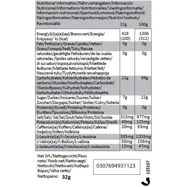 GU Energy Gel Bundle Vorratsbeutel 480g + Gel 3x32g + Flask Gesalzenes Karamell