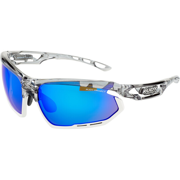 Rudy Project Fotonyk Glasses crystal graphite - rp optics multilaser blue