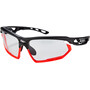 black matte/bumpers red fluo impactX photochromic 2 black