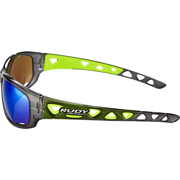 Rudy Project Airgrip Glasses crystal graphite - rp optics multilaser green