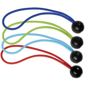 Masterlock Kugelkopf Spanngummi 200mm 4er-Pack rot, blau, hellblau, grün rot, blau, hellblau, grün