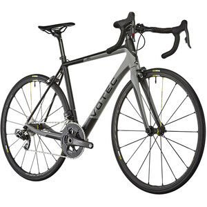VOTEC VRC Evo Carbon Road black-grey black-grey