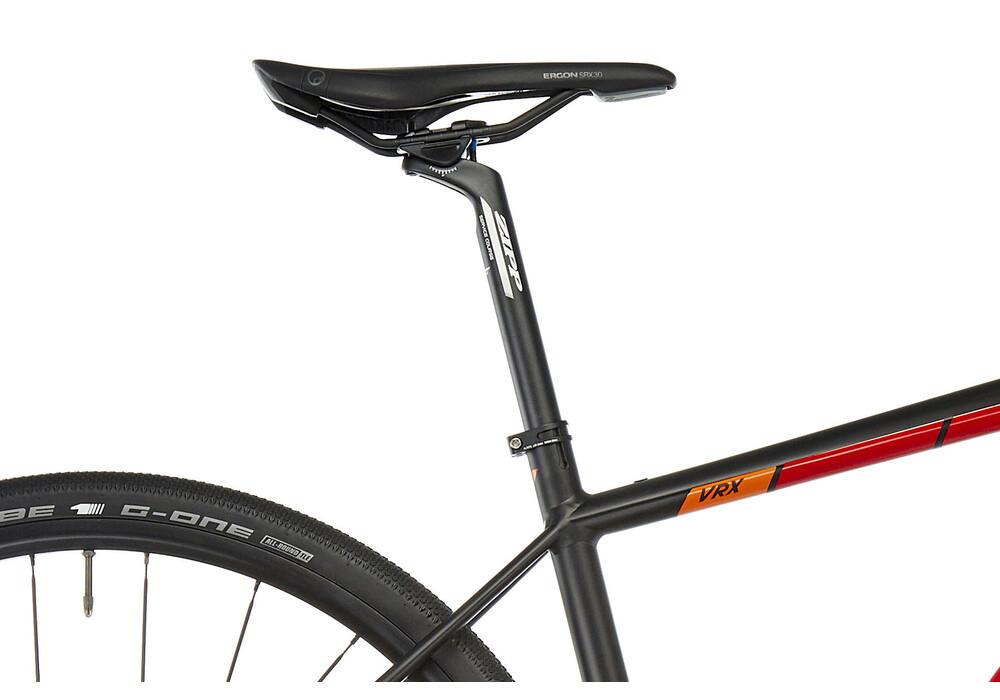 votec vrx comp gravel red black online kaufen bei bikester. Black Bedroom Furniture Sets. Home Design Ideas