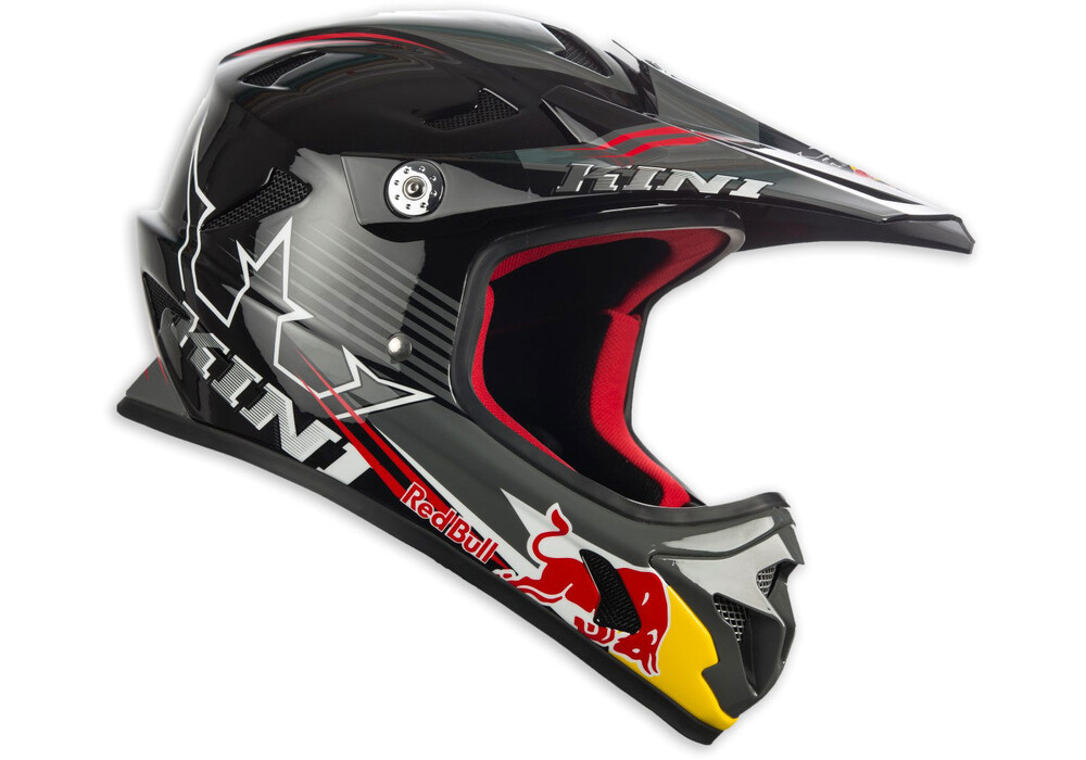 kini red bull mtb helmet men black g nstig kaufen bei. Black Bedroom Furniture Sets. Home Design Ideas