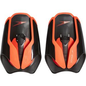 speedo Fastskin Plaquettes de natation, noir/orange noir/orange