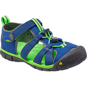 Keen Seacamp II CNX Sandalen Kinder true blue/jasmine green true blue/jasmine green