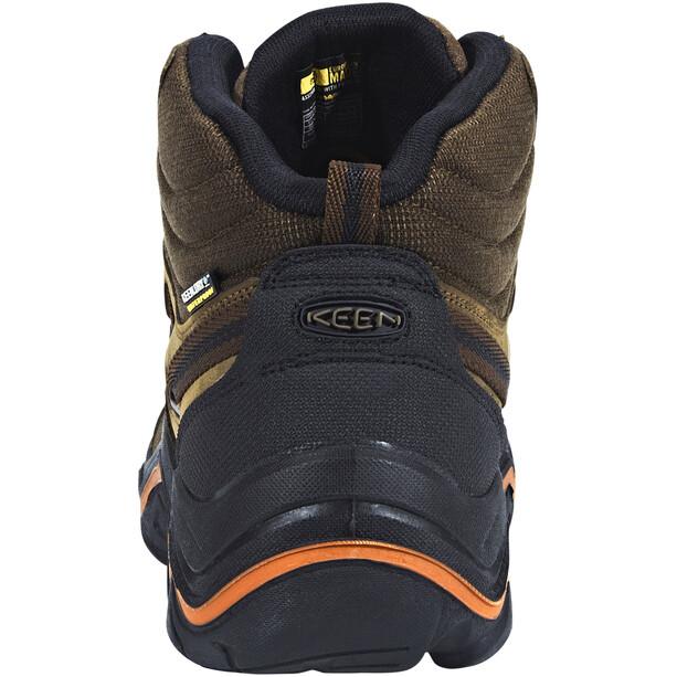 Keen Wanderer Mid WP Schuhe Herren cascade brown/bossa nova