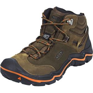 Keen Wanderer Mid WP Schuhe Herren cascade brown/bossa nova cascade brown/bossa nova