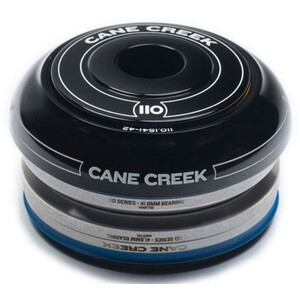 "Cane Creek 110 Headset 1 1/8"" Short IS42/28.6/H9 I IS42/30 ブラック"