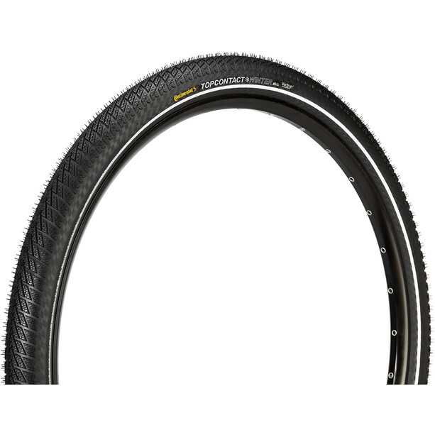 """Continental Top Contact II Winter Premium Folding Tyre Vectran Breaker 27.5"""" Reflex"""