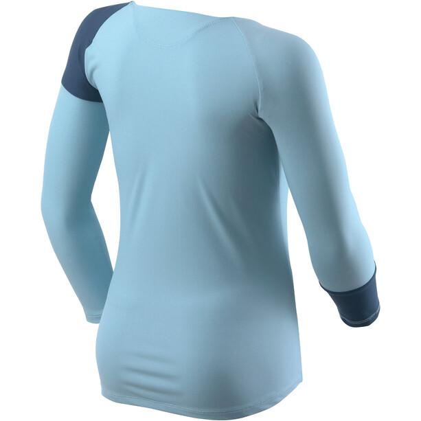 Houdini Liquid Skin Crew Shirt Barn bonaire rev/tide blue