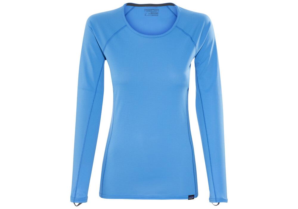 Patagonia capilene lightweight longsleeve shirt women blue for Lightweight long sleeve shirts women s